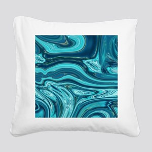 modern swirls Square Canvas Pillow