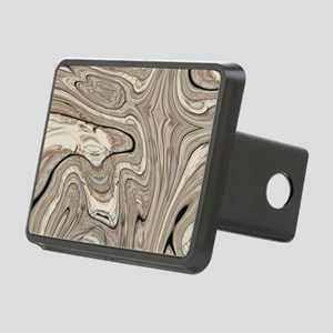 modern swirls Rectangular Hitch Cover