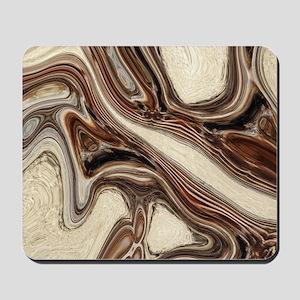 modern swirls Mousepad