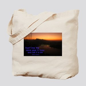 cable ride from pao de acucar aka sugarlo Tote Bag