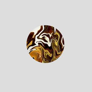 modern swirls Mini Button