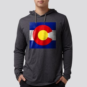 Colorado Square Flag Long Sleeve T-Shirt