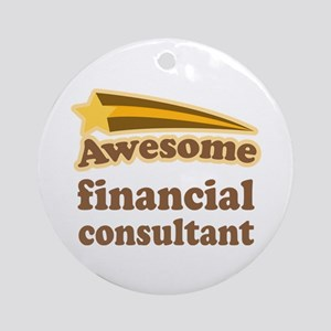 Financial Consultant Ornament (Round)