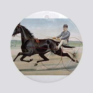 larness racing art Ornament (Round)