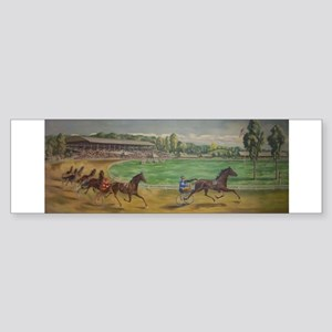 larness racing art Bumper Sticker