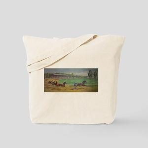 larness racing art Tote Bag