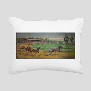 larness racing art Rectangular Canvas Pillow