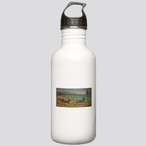 larness racing art Water Bottle