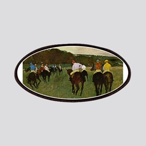 degas horse racing art Patch
