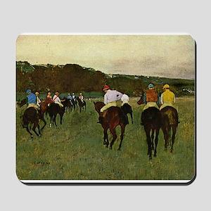 degas horse racing art Mousepad