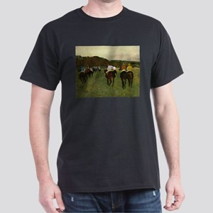 degas horse racing art T-Shirt