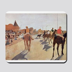 degas horse racing art Mousepad