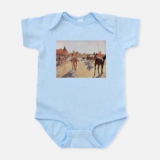 degas horse racing art Body Suit