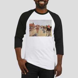 degas horse racing art Baseball Jersey