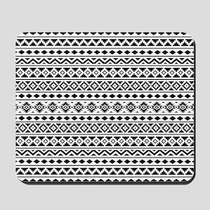 Aztec Essence (II) BW Mousepad