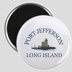 Port Jefferson - Long Island. Magnet Magnets