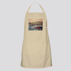 horse racing art by manet Apron