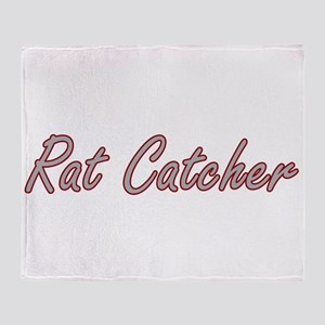 Rat Catcher Artistic Job Design Throw Blanket