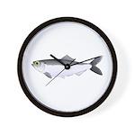 Alewife herring v2 Wall Clock