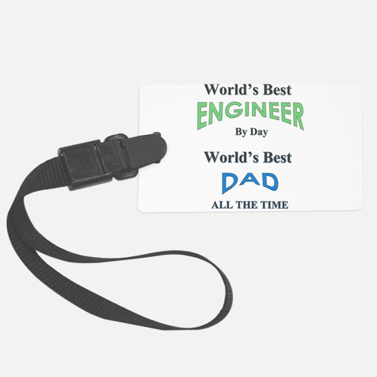 Cute Fathers day Luggage Tag
