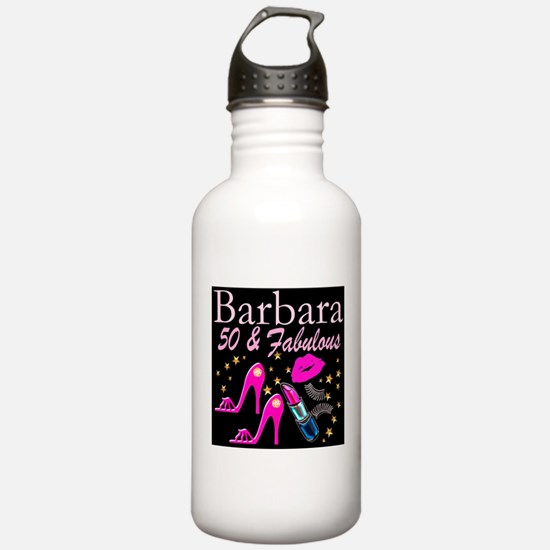 50TH GLAMOUR GIRL Water Bottle