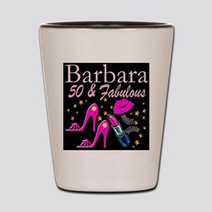 50TH GLAMOUR GIRL Shot Glass