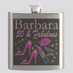 50TH GLAMOUR GIRL Flask