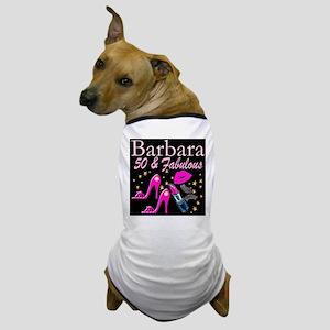 50TH GLAMOUR GIRL Dog T-Shirt