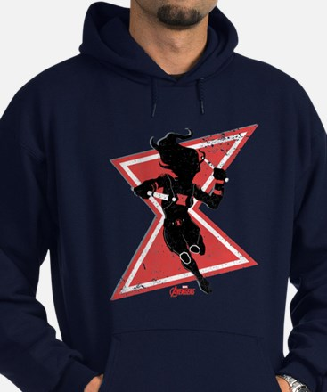 The Avengers Black Widow Hoodie (dark)