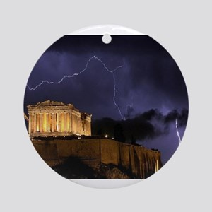 Greece Ornament (Round)