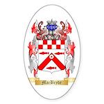 MacBryde Sticker (Oval 10 pk)