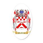 MacBride Oval Car Magnet