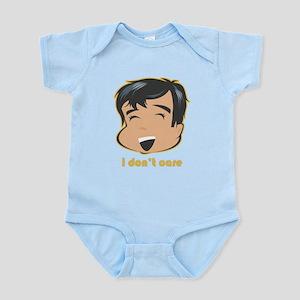 I Don't Care Infant Bodysuit