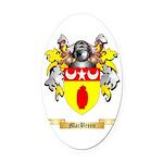 MacBreen Oval Car Magnet