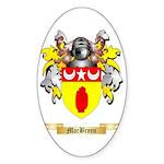 MacBreen Sticker (Oval 10 pk)