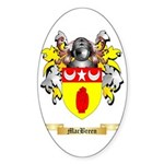 MacBreen Sticker (Oval 50 pk)