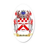 MacBraid Oval Car Magnet