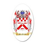 MacBraid 20x12 Oval Wall Decal