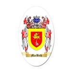MacBeth Oval Car Magnet