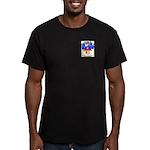 MacAvoy Men's Fitted T-Shirt (dark)