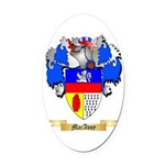 MacAvoy Oval Car Magnet