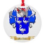 MacAvin Round Ornament