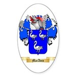 MacAvin Sticker (Oval 50 pk)