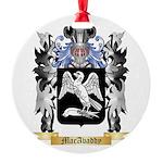 MacAvaddy Round Ornament