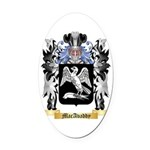 MacAvaddy Oval Car Magnet