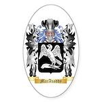 MacAvaddy Sticker (Oval 50 pk)
