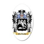 MacAvaddy 35x21 Oval Wall Decal