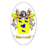 MacAuslin Sticker (Oval 50 pk)