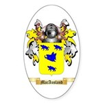 MacAusland Sticker (Oval)
