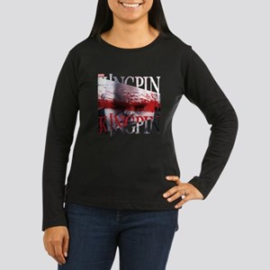 Kingpin Bloody Ey Women's Long Sleeve Dark T-Shirt